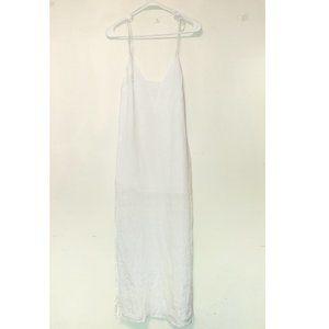 Nwt SAM & LAVI Crisp White Linen Slip Dress XS